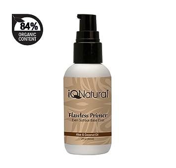 Amazon Com Iq Natural Foundation Silk Makeup Primer Mineral