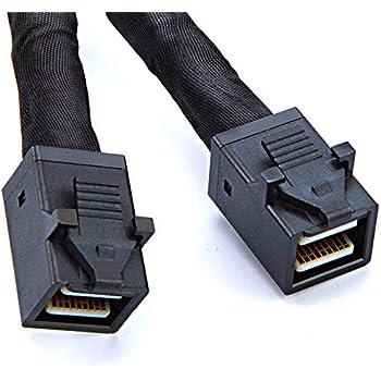 SUPERMICRO CBL-SAST-0532 Internal MiniSAS HD SFF-8643 50cm Cable