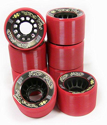ハイパーローラースケートホイール8パック62 mm 96 Aヒップホップクアッドダービー