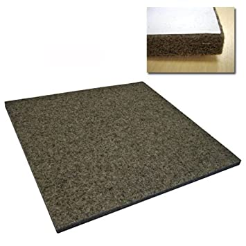 Heavy Duty/Industrial Felt (F15-12' x 12' Square with Adhesives), 1 in Cleverbrand Inc.