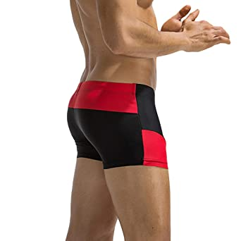 Amazon.com: Alalaso Mens Swimsuit Quick Dry Mens Swimming ...