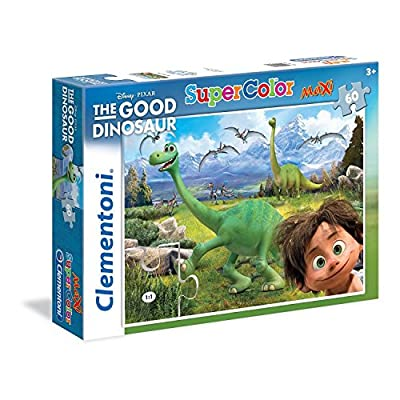 Clementoni 26799 Maxi The Good Dinosaur Puzzle 60 Pezzi