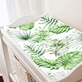 Carousel Designs Green Painted Tropical Changing Pad...
