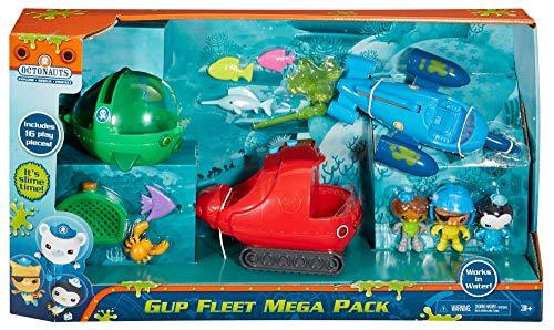 Fisher-Price Octonauts Gup Fleet Mega Pack]()