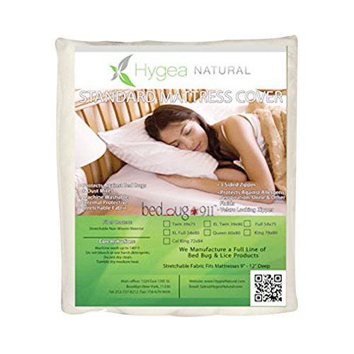 "Hygea Natural Standard Bed Bug Mattress Cover - Crib 28""x52""x6"""