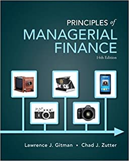 Introduction to the financial management of healthcare principles of managerial finance 14th edition pearson series in finance fandeluxe Images
