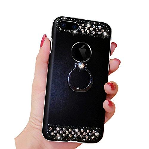 [해외]애플 아이폰 7 플러스 럭셔리 다이아몬드 반지 케이스/Apple iPhone 7 Plus Luxury Diamond Ring Case