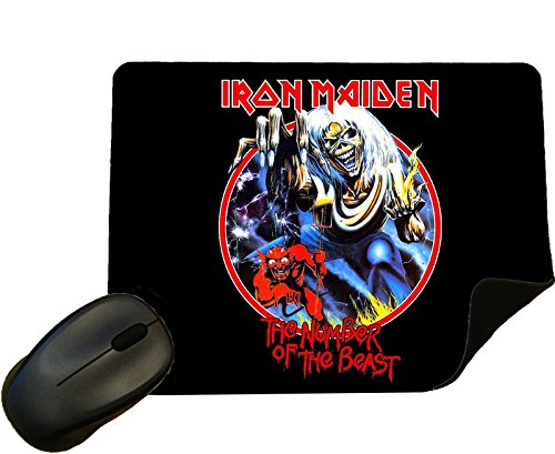 Iron Maiden design 4 Mouse Mat / Pad - By Eclipse Gift ()