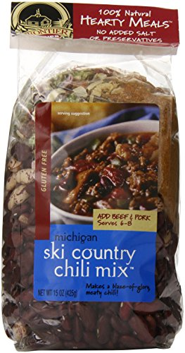 (Frontier Soups Hearty Meals Michigan Ski Country Chili Mix, 15 Ounce )