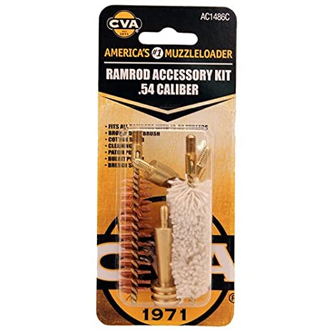 Amazon com : CVA AC1486C Ramrod Accessory Kit 54 Caliber