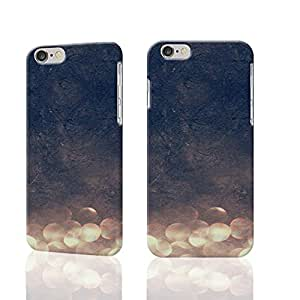 Glitter Photo Plastic Hard Customized Personalized 3D Case For iPhone 6 Plus - 5.5 inches