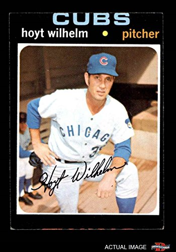 1971 Topps Baseball (1971 Topps # 248 Hoyt Wilhelm Chicago Cubs (Baseball Card) Dean's Cards 2 - GOOD Cubs)
