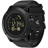 Docooler Spovan Outdoor Digital Smart Sport Watch for Men with Pedometer Wrist Watch for iOS and Android 50M Waterproof