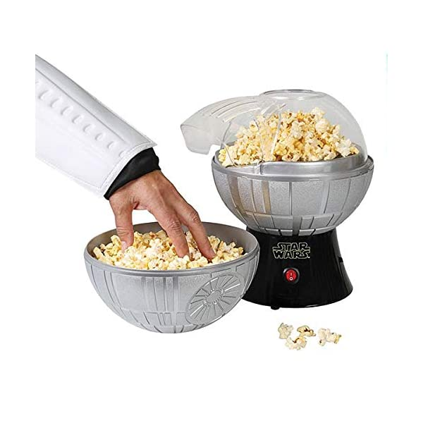 Star-Wars-Death-Star-Popcorn-Maker-Hot-Air-Style-with-Removable-Bowl