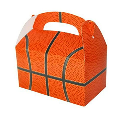 - HOT DEAL ! 24 BASKETBALL PARTY TREAT BOXES FAVORS GOODY BAG PRIZE GIFT BASKET CARNIVAL
