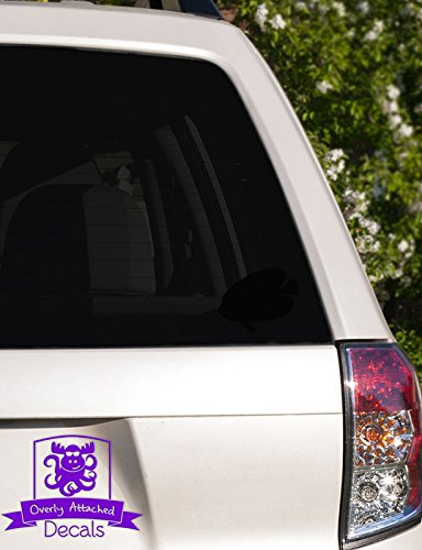 Tropical Butterfly Fish Vinyl Car Decal - 10
