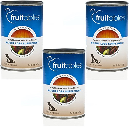 (3 Pack) Fruitables Weight Loss Supplement, Pumpkin, 15 Ounces each