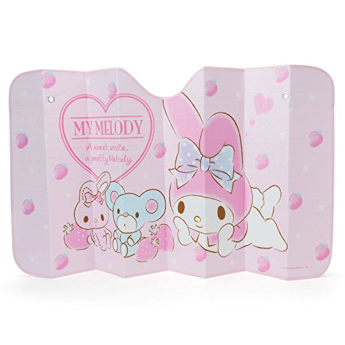 My Melody Sanrio Design Sun Shade for Car Front Window by My Melody