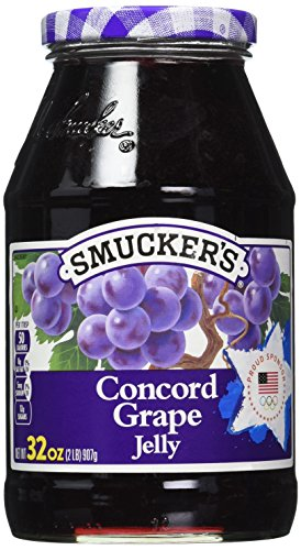 Smucker's  Concord Grape Jelly, 32 Ounce