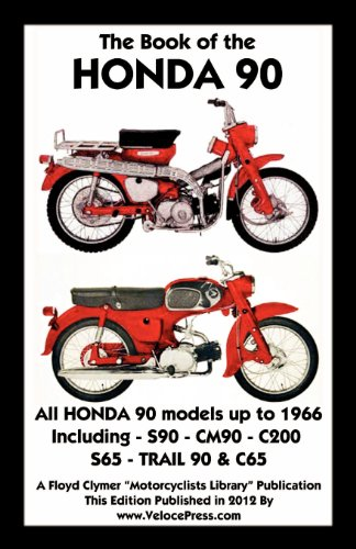 BOOK OF THE HONDA 90 ALL MODELS UP TO 1966 INCLUDING for sale  Delivered anywhere in USA