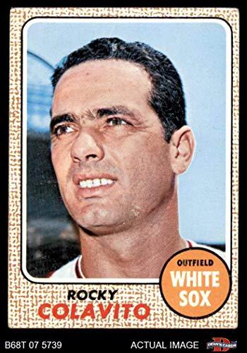 1968 Topps # 99 Rocky Colavito Chicago White Sox (Baseball Card) Dean's Cards 3 - VG White Sox