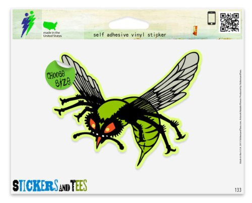 Amazon Com Green Hornet Vinyl Car Bumper Window Sticker 10 X 8