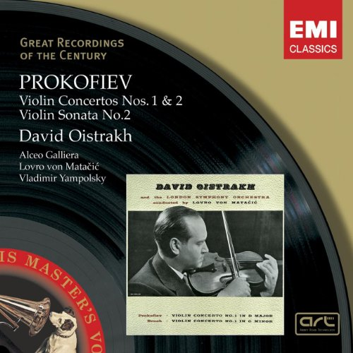 Prokofiev: Violin Concertos Nos. 1 & 2 / Violin Sonata No. 2 (Great Recordings of the Century) ()