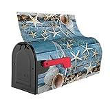 Summer Seashell Beach Starfish Mailbox