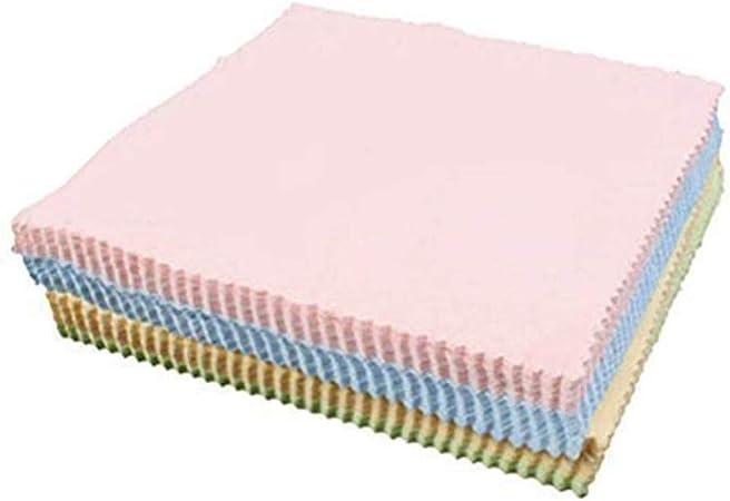 10 Pack Premium microfibra panno di pulizia morbida per obiettivo fotocamera Occhiali Schermo