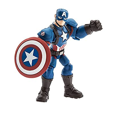 Marvel Captain America Action Figure Toybox …