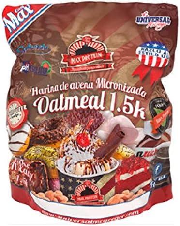 Max Protein Harina de Avena sabor Gofre & White Choc - 1,5 kg ...