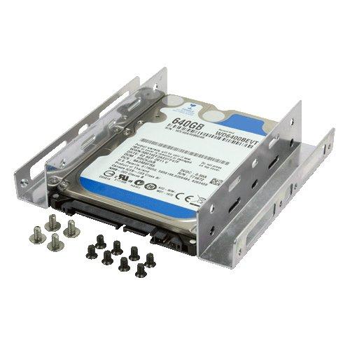 LogiLink AD0009 - Adaptador para disco duro só lido de 2.5' a 3.5' (para 2 discos)