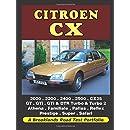 Citroen CX: 2000, 2200, 2400, 2500, CX25, GT, GTi