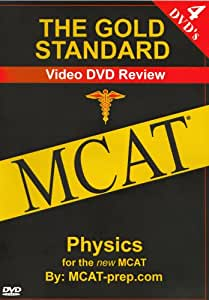 The Gold Standard Video MCAT Science Review on 4 DVDs: Physics