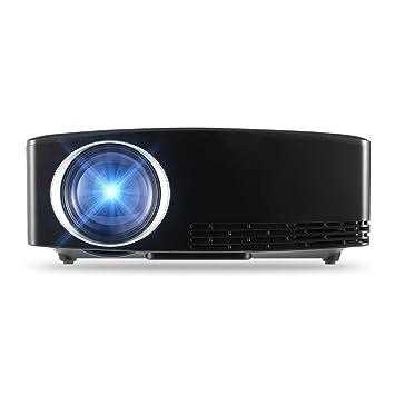Zichen Proyector LCD GP80 1080P Cine en casa 1800 lúmenes 1000: 1 ...