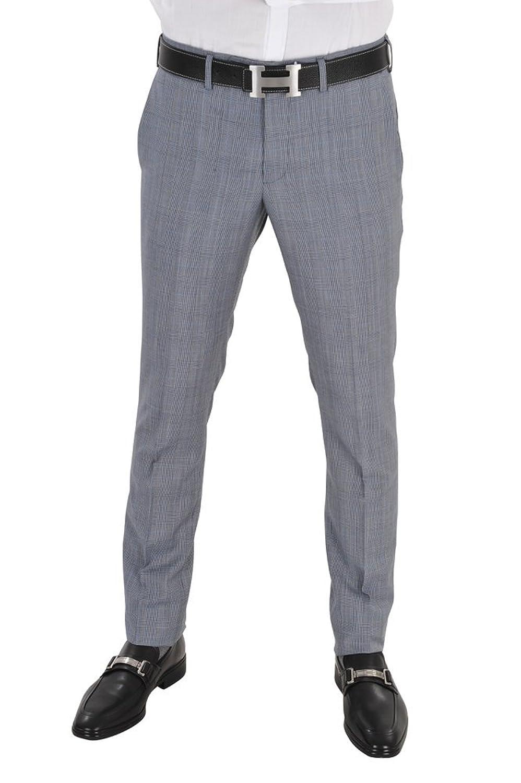 Incotex Pants Men Light Gray / Business trousers Slim Fit Slim Cut