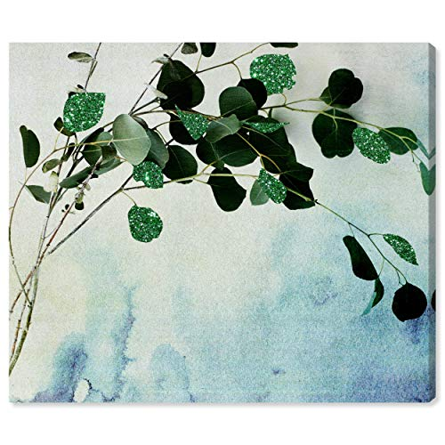 The Oliver Gal Artist Co. Botanical Wall Art Canvas Prints 'Cascade Glitter' Home Décor, 20