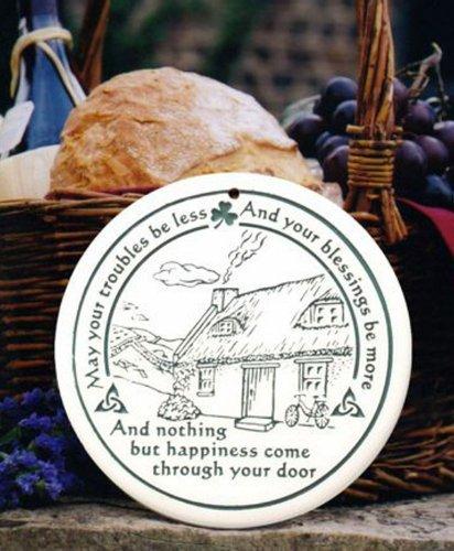 (Seneca Ceramics Celtic Cottage Bread Warmer )