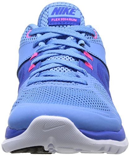 Womens Nike Flex 2014 Rn Hardloopschoenen Unvrsty Bl / White / Hypr Cblt / Hyp
