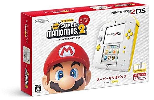 ニンテンドー2DS スーパーマリオパック【ホワイト×イエロー】【Amazon...