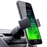 Koomus Pro CD Slot Soporte para soporte de coche para todos los teléfonos inteligentes - Negro