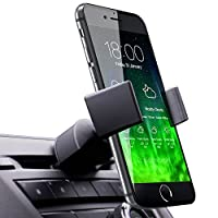 Koomus Pro CD Slot Smartphone Car Mount Holder Cradle for iPhone 6, 6 Plus, 5S, 5C, 5, Samsung Galaxy and All Smartphones, Black