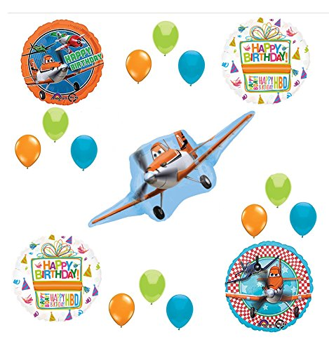 Disney Planes Party Supplies Birthday Balloon Bouquet Decorations -