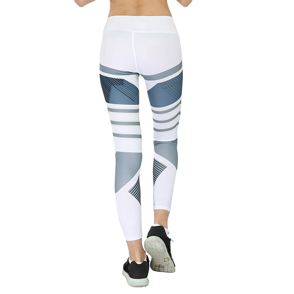 Ushero Mallas Deportivas Mujer Fitness Leggins Yoga Pantalones Elastico  Cintura Altura Polainas para Running f67ada68f647e