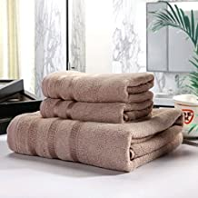 Bath Towels Hand Towel Sets,Bamboo Fiber, High Absorbent, For Home, Outdoor and Travel Use (Color Station)