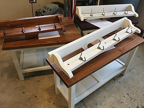 Foyer Bench Coat Rack - 3