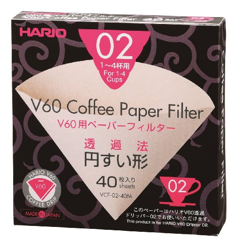 Hario Paper Coffee Filters Count product image
