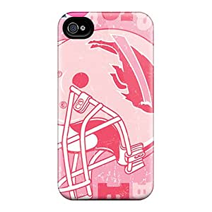 Durable Case For The Iphone 4/4s- Eco-friendly Retail Packaging(buffalo Bills)