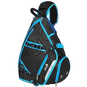 32L Oversized Sling Bag Backpack, SEEU Crossbody Chest Gym Backpack Outdoor Hiking Travel Bag for Men Women Kids