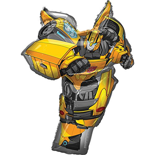 Amscan 3744201 Transformers Bumble Bee Supershape Foil Balloon -